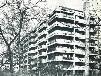 Immeubles résidentiels Miremont - 1968-69