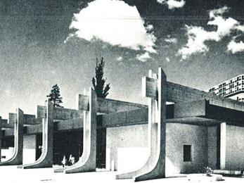 Centre communautaire du Lignon - 1969