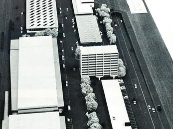 Marché de gros de l'alimentation - 1968