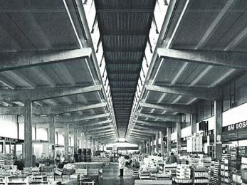 Halle des primeurs - 1968