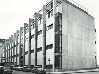 Entreprise des postes - 1961-63