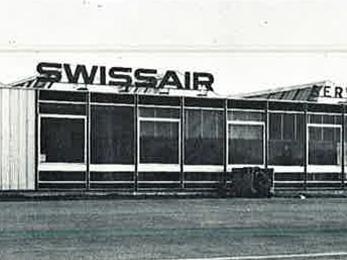 Service Hotelier Swissair - 1960